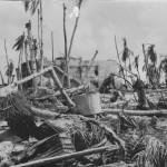 Japanese concrete bunker Tarawa Island 1943