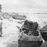 LVT Stopped at the Tarawa Beach