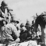 Marines and wounded Battle of Tarawa
