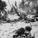 Marines in action Battle of Tarawa