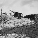Vickers 203 mm gun Tarawa pacific