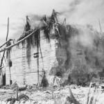 japanese concrete bunker Tarawa 1943