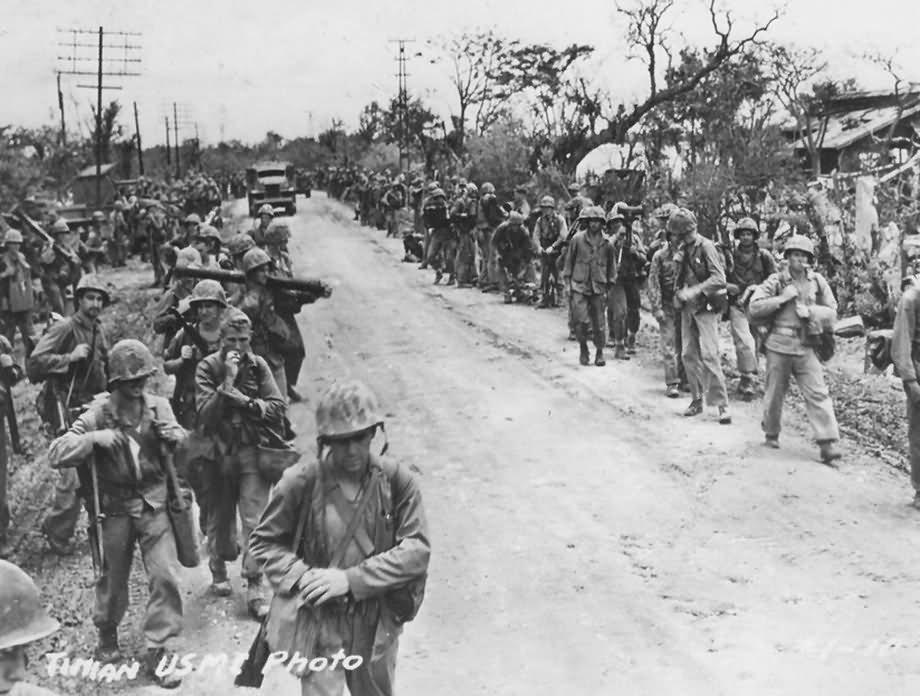 Tinian 1944 - Mariana Islands   World War Photos
