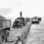 2nd Marine 1944 Sea Bee Peir Moving Supplies Tinian