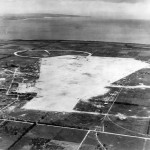 Captured Japanese Ushi Point Airfield on Tinian 1944