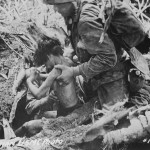 US Marines and POW Battle of Tinian 1944