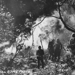 US Marines in action Battle of Tinian 1944
