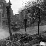 1st Army M10 in action Aachen oct1944