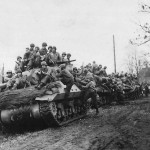 30th Infantry Division And 823rd Tank Destroyer Battalion M10 Germany 1945