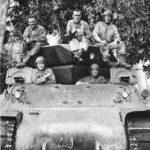 632nd TD Bat crew on M10 in Saidor 1944