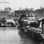 Achilles crosses Savio River on Churchill Twaby Ark oct44
