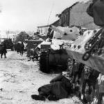 Battle of the Bulge Killed Colonel by his M10