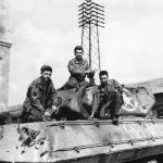 Crew Of A Us Army Repair Unit Working On A Shell Damaged Tank Destroyer At An Ordnance Depot Near Anzio Italy 1944