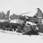 Destroyed M10 Tank Destroyer 35th Infantry Division 454th Tank Destroyer Battalion Livarchamps Belgium Battle Of Bulge 1945