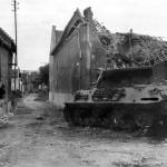 KO M10 Wolverine of the 803rd Tank Destroyer Battalion Übach Germany 1944
