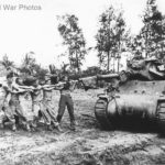 M10 32nd Division 632nd TD Battalion at Aitape