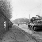 M10 Wolverine of the 773rd Tank Destroyer Battalion, 90th Division Mainz Germany 1945