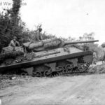 M10 Accident of Company A 703rd TD Saint Jean de Daye 11jul44