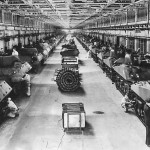 M10 And M4 Tanks On Production Line At Ford Plant 1943