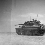 M10 Tank Destroyer Heads To Battle Lines At Bir Marbott Pass East Of El Guettar In Tunisia 1943.