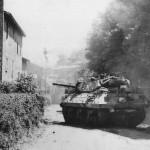 M10 Wolverine Tank Destroyer Moves Into Artena Italy 1944