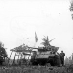 M10 Wolverine And M4 Sherman of 77th Infantry Division Leyte Island 1944