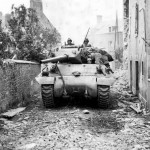 M10 Wolverine, St Fromond France 703rd Tank Destroyer Battalion 3 ADiv