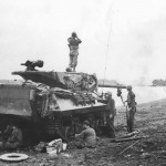 M10 Wolverine Tank Destroyer of 77th Infantry Division 632 Bn Ormoc Leyte Philippines December 1944