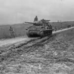 M10 Wolverine Tank Destroyer Halloville France November 1944