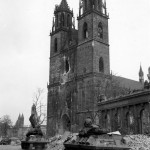 M10 Wolverine Tank Destroyers of the 30th Infantry Division Magdeburg Germany 1945