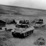 M10 Wolverine Tank Destroyers Head For Front In Tunisia 1943