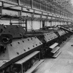 M10 Wolverine Tank Destroyers On Production Line At Ford Plant 1943