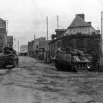 M5 And M10 Wolverine of the 2nd Armored Division In Tesey Sur Vire France 1944