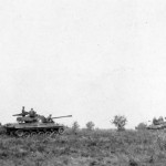 M18 Hellcat Tank Destoyers 76mm Guns on the Move in Field