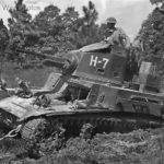 68th Armored Regiment M2A4 Tank in 3rd Army Maneuvers Camp Polk 41