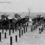 Army tank maneuvers at Fort Benning 1940