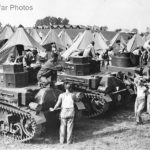 M2A2 tanks and National Guardsmen Manassas VA