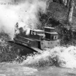M2A2 tank fording a creek during maneuvers at Fort Benning 41