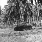 Marines with M2A4 Light Tank of the 1st Tank Battalion on Guadalcanal, September 1942