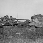 M36 Jackson and Maginot Line Pillbox 776th Tank Destroyer Battalion Hottviller France 1944