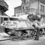 White M36 Jackson/Slugger of the Third Army, January 1945 Luxembourg