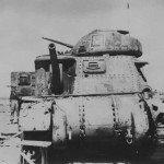 Captured M3 Lee Grant Tank North Africa