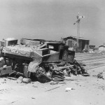 Knocked Out M3 Lee Africa