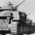 M3 Grant Mk III Tanks of Australian 1st Armoured Division