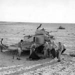M3 Grant Tank Crews Set Up for the Night in Egyptain Desert 1942