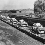 M3 Grant Tanks for British Army Leave Pullman Standard Plant 1941