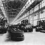 M3 Lee Tanks On Assembly Line at Chrysler Plant in Detroit