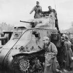 M3 Lee captured in Tunisia DAK Afrika Korps