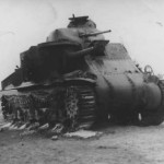 M3 Lee destroyed in Africa