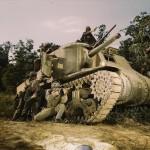 M3 Lee tank color photo 1941